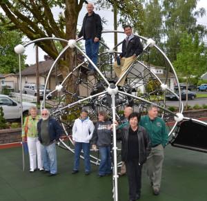 Memorial Park sponsored by Newberg Noon Rotary Club