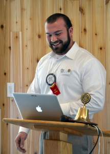 Colby Strunk gives his Classification Talk 061516