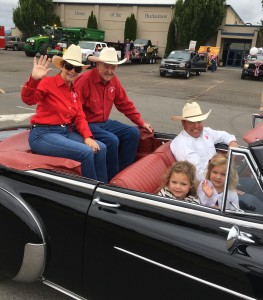 Bill and Ann Dolan Rodeo grand marshal