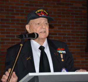 Korean War Vet Alan Lertzman presenter 020817
