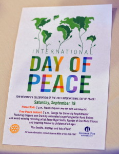 Peace Day Notice on 091915 082615