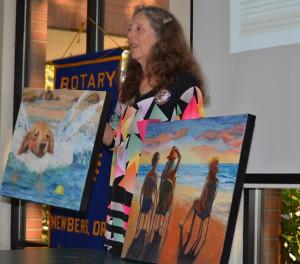 Two Kathleen Buck Paintings 090915