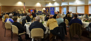 Rotary Meeting at Friendsview 120215