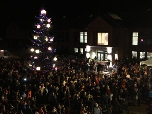 Tree Lighting top view