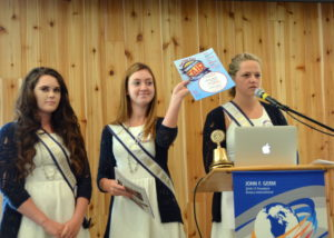 Yamhill Co Fair Court, Erin Rush Courtney Croft and Samantha Roff 061316