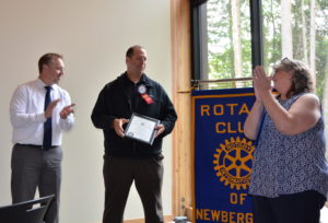Matt Stephens is inducted as our newest Member 081016