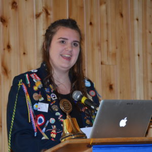 Tess Marie shares her Rotary Exchange to Denmark story 081716
