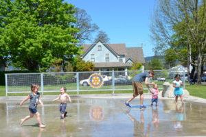 Rotary Centennial Park Splash Pad 050317